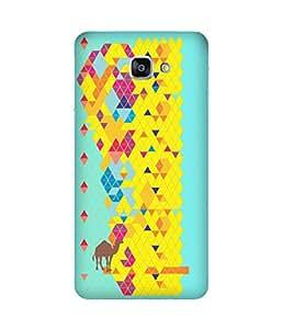Stripes And Elephant Print-52 Samsung Galaxy A9 Case