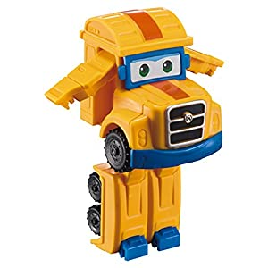 Super Wings - Poppa, figura transformable Super Wings - 6 x 3,5 x 6,5 cm (ColorBaby 85218)