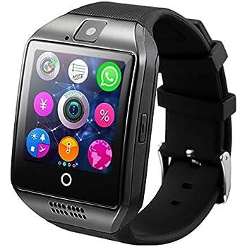 Smart Watch Men Q18 con Pantalla táctil Cámara Grande con Soporte ...