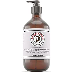 Beard Wash 200ml - A Gentle Beard Shampoo and Wash by Grizzly Adam - Formulated Specifically For Your Beard and Moustache - Trusted Brand