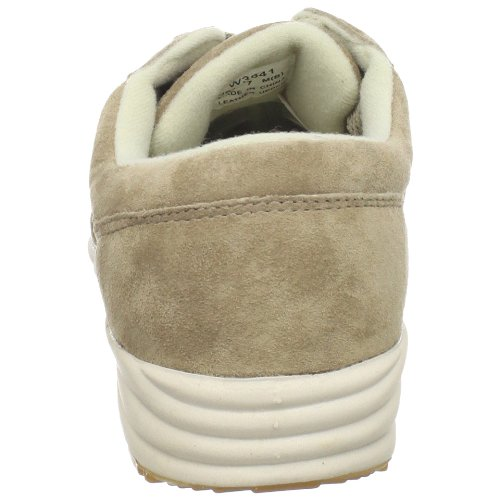 Propet Washable Walker Cuir Baskets Classic Taupe