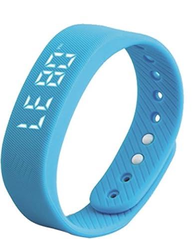 3D Schrittzähler Armband 3D Intelligente Meter Armband Smart Sport Armband Display Datum und Zeit, abnehmbare USB Ladekabel, Motion Messen Auto Datum Armbanduhr T5