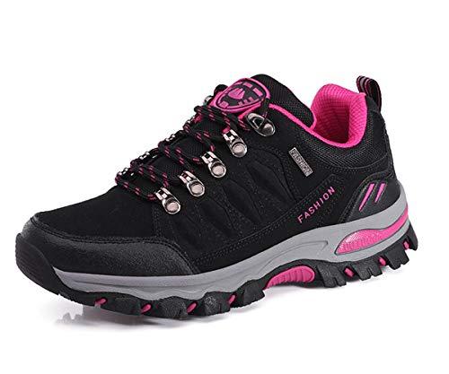 Eagsouni Wanderschuhe Herren Damen Wanderstiefel Atmungsaktiv Turnschuhe Sportlich Bequem Outdoor Walking Wandern Trekking Anti-Rutsch Schuhe für Unisex (Damen Turnschuhe Wandern)