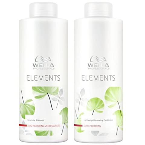 Wella Elements Organic Renewing Shampoo + Lightweight Renewing Conditioner