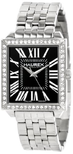 Haurex Italy Women's Quartz Watch Prestige XS376DN1 with Metal Strap