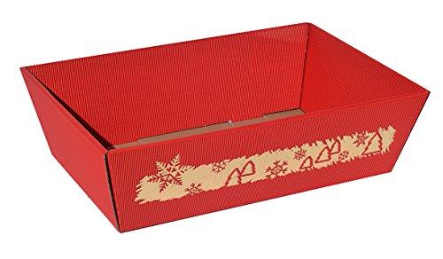 10x Präsentkorb Wintermärchen – Größe L, Geschenkkorb, Weihnachtskorb