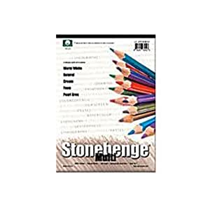 Legion Paper Stonehenge Multi Color Paper Pad (ANL21-STP250MC912) by Legion Paper (English Manual)