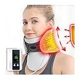 WYFDR Dispositivo di trazione cervicale Elettrico del Collo, Collare Gonfiabile Regolabile Famiglia Massaggio Collare Appeso Telaio per Collo e Mal di Schiena Superiore