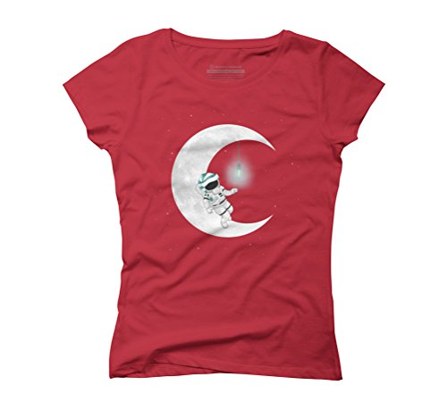 Time To Sleep Women's Graphic T-Shirt - Design By Humans Red