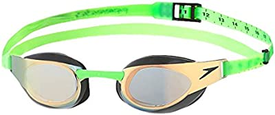 Speedo Fastskin3 Elite Goggle Mirror Gold/Diva Gafas Natación, Unisex Adulto