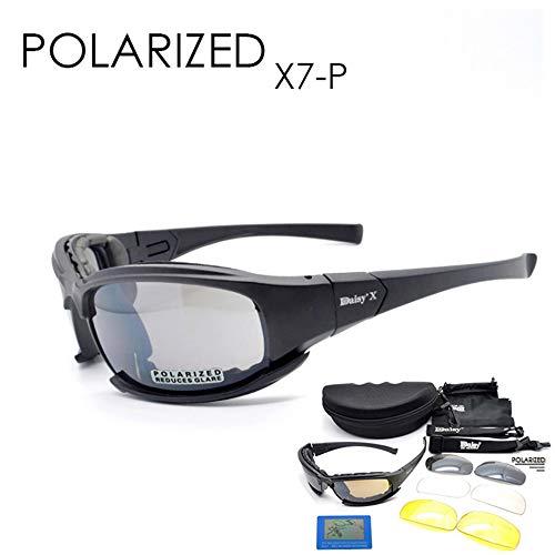 Gafas de sol tácticas polarizadas 4LS para hombre