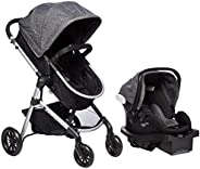 Evenflo Travel System Car Seat & Stroller, 0 to 36 Months, Black, Piece