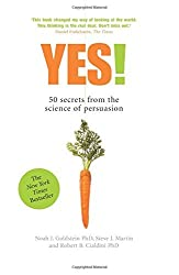 Yes!: 50 secrets from the science of persuasion by Noah Goldstein (2007-11-09)
