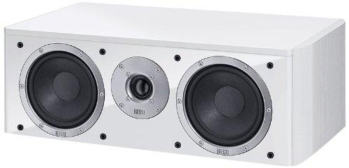 Heco Music Style Center 290W weiß Lautsprecher–Lautsprecher (Lautsprecher, XLR, Boden, geschlossen, 2,5cm, 12,5cm)