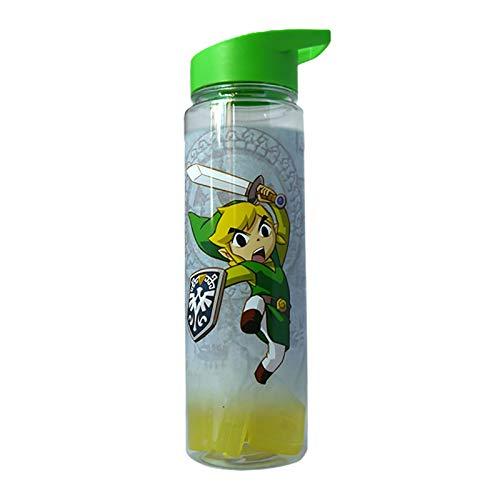 Just Funky Abysse Corp _ gifjfy045Nintendo-Super Mario Wasser Flasche mit Folie Print x1, Mehrfarbig (Flasche Freezable Wasser)