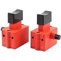 AC 250V/12a 125V/20A DPST eléctrico (gereedschap drukknop 2stuks vergrendelen