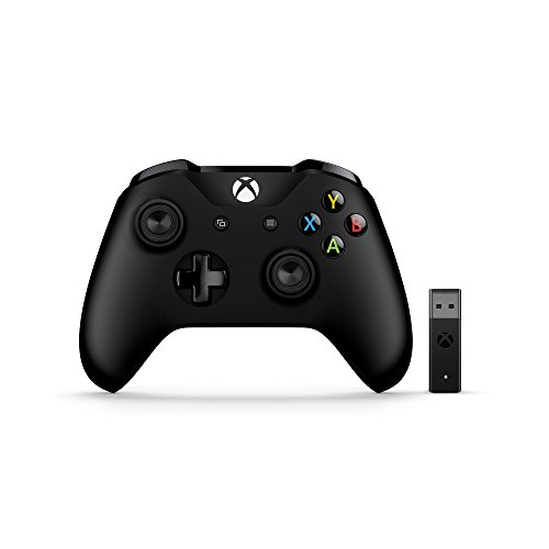 Microsoft PC: Nuovo Xbox Controller + Wireless Adapter per Windows 10 [Bundle]