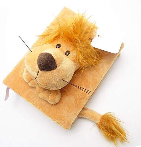 Persönlichkeit Mode 1 Stück 16,7 CM Tier Muster plüsch Memo Foto Scrapbooking Foto Speicher Album für 96 Fotos (Lion) -