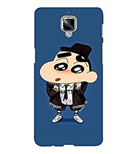 EPICCASE Suited Ching Shang Mobile Back Case Cover For OnePlus Three (Designer Case)