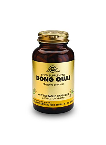 Solgar Dong Quai Integratore Alimentare per i Disturbi della Menopausa - 100 Compresse Vegetali
