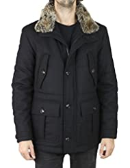 Pierre Cardin - Manteau Pierre Cardin Fur - Noir