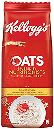Kellogg's Oats, High in Protein and Fibre,Low in Sodium,2kg