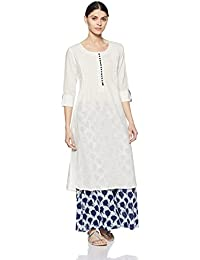 JASHN Women's Straight Kurta