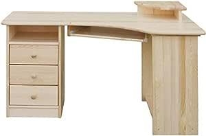 Schreibtisch Kiefer Natur 2021
