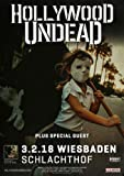Hollywood Undead - Five, Wiesbaden 2018 | Konzertplakat |