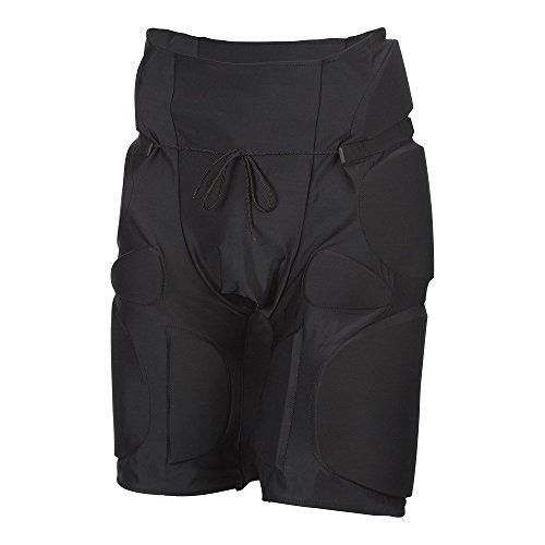 RAM Tackle Shorts–gepolstert–Kontakt Training–3Größen erhältlich–Rot/Schwarz