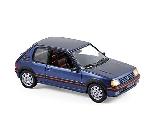 Voiture Miniature Peugeot 205 - Norev - 471704 - Peugeot 205 Gti