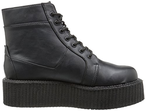 Demonia V-creeper-571, Stivali Uomo Schwarz (Blk Vegan Leather)