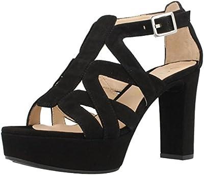 Sandalias de vestir para mujer, color Negro , marca UNISA, modelo Sandalias De Vestir Para Mujer UNISA VOLE Negro