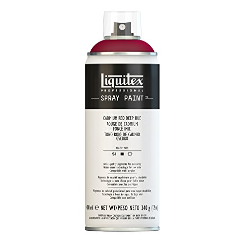 Liquitex Professional – Pintura acrílica en spray, 400ml, color roj