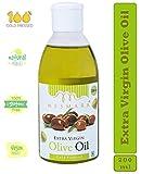 Mesmara Organic Extra Virgin Olive Oil 200 ml (Jaitun Oil) for cooking,skin and hair
