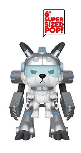 Funko- Pop Figura de Vinilo: Animación: Rick & Morty S6-Snowball in Mech Suit Coleccionable, (40249)