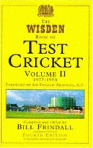 Wisden Book of Test Cricket Vol 2: v. 2 por Bill Frindall