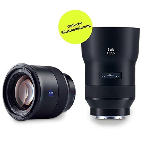 ZEISS Batis 1.8/85 für spiegellose Vollformat-Systemkameras von Sony (E-Mount)