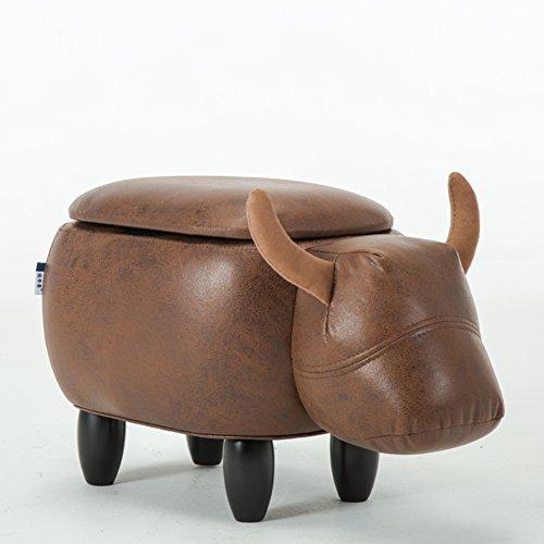 Gepolsterte Fahrt-auf Lagerung Osmanische Fußstütze Hocker Mit Vivid Entzückende Tierform Änderung Schuh Bank-c -