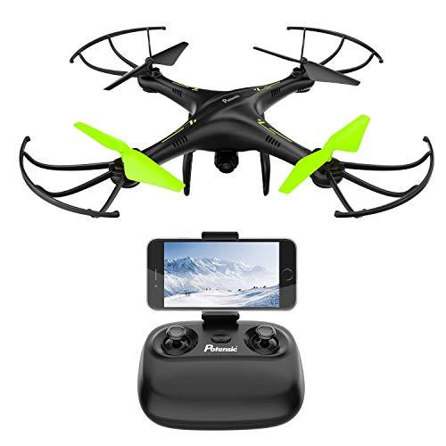 Potensic Drone avec caméra, 2.4Ghz RC U42W...