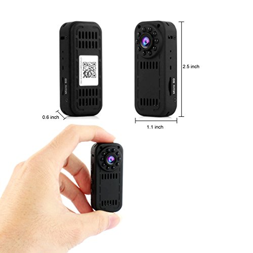 WIFI Spy Camera , PANNOVO HD 1080P Wireless Hidden Camera Security Camera  Wireless Video recorder with Night Visioon