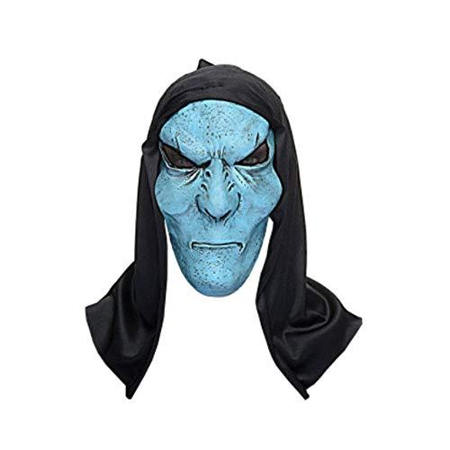 LLY Halloween Horror Alien Mask High-End-Film-Simulation Make-up Kopfbedeckung
