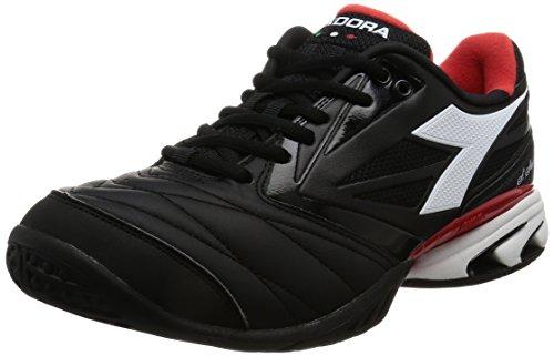 Diadora S.Star K Viii Sg, Chaussures de Tennis Homme Noir (Nero Jet/bianco)