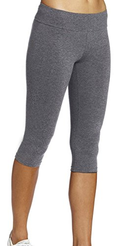 leggings Mädchen grau Joggings hose Legging damen Tights Capri YOGA Gym,XL