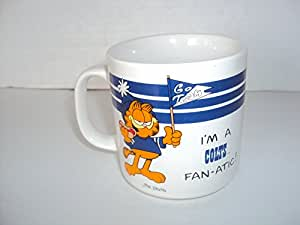 "Indianapolis Colts Vintage Garfield'I"" m a Colts Fan-atic Tasse à café 10 ""cl."