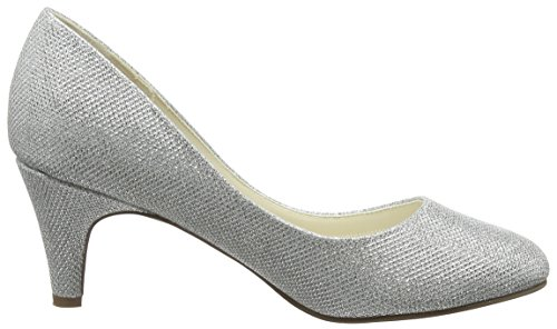 Pink Paradox London Damen Affection Pumps, Champagnerfarben/Goldfarben Silberfarben
