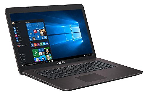 Asus F756UQ-T4073T 43,9 cm (17,3 Zoll matt) Notebook (Intel Core i5-6200U, 1000GB HDD, 128GB SSD, 8GB RAM, Nvidia GeForce 940MX, Win 10 Home)