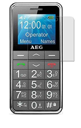 AEG Voxtel SM250 - 3x seidenmatte Premium Folie Antireflex - Antifingerprint - Schutz Folie - Schutzfolie