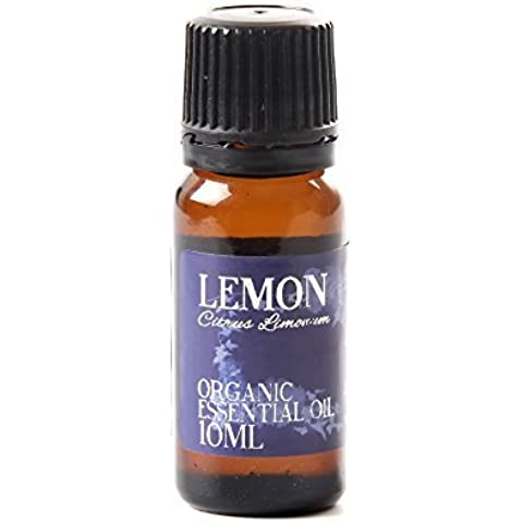 Olio Essenziale Organico di Limone - 10ml - 100% Puro