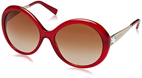 Michael Kors Unisex MK2015B Willa I Sonnenbrille, Rot (Red/Gold 308913), One size (Herstellergröße: 58)